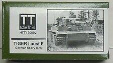 Tiger I ausf.e, Hauler, 1/120, TT, Resin, Etched Parts NEW