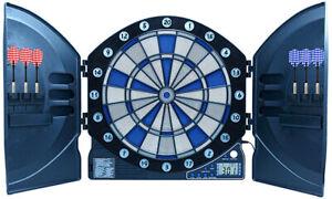 Ausstellungsstück: Best Sporting 862089 elekt. Dartscheibe Cambridge LED 6 Pfeil