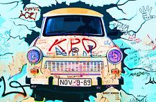 STUNNING ABSTRACT GRAFFITI POP ART CANVAS #33 BERLIN STREET ART CANVAS PICTURE