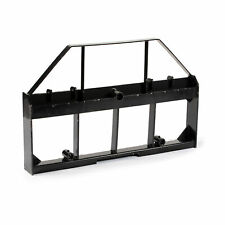 Titan Attachments 46 In Skid Steer Pallet Fork Frame Attachment Rate 4000 Lb
