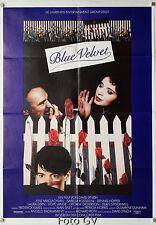 Blue Velvet David Lynch Dennis Hopper 1986 Filmplakat A1 EA