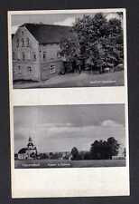 112062 AK Heyersdorf Gasthof Kirche Schule um 1930