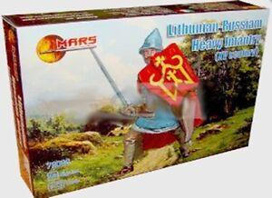 MARS 1/72 1st Half XV Century Lithunian Russian Heavy Infantry NEW in BOX 72066