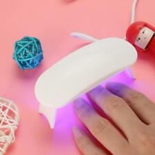 Portable UV Nail Lamp Light 9W Dryer Curing Acrylic Gel Polish Mini USB Plug