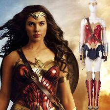 Costume da Wonder Woman cosplay copia professionale vestito completo con stivali