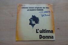 "Philippe Sarde Composer Autogramme signed 18x18 cm Single ""L´ultima Donna"""