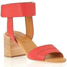 See By Chloe $315 Leather 'Anna' Ankle Cuff City Sandal, Red EU 35, US 5