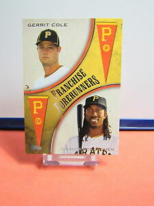 2013 Topps Update Franchise Forerunners #4 Andrew McCutchen/Gerrit Cole