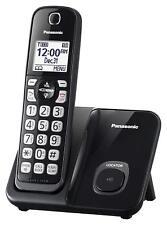 Panasonic Kx-Tgd510B, Black Expandable Digital Cordless Telephone w/ One Handset