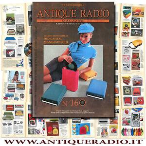 Antique Radio Magazine 160 monografico MANGIADISCHI Lesa Geloso IRRADIO Pack-Son
