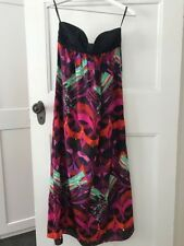 Stunning Zimmermann printed silk maxi dress size 0 great condition