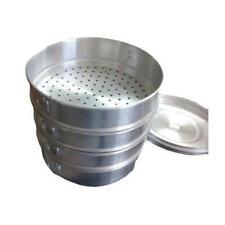 Pure Aluminum Momo Steamer Dumpling Maker 4 Tier Modak Maker Poaching Pan