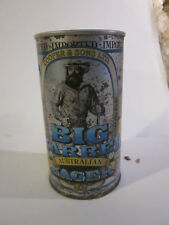 BIG BARREL AUSTRALIAN LAGER BEER CAN 25 OUNCE CAN