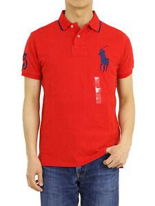 Polo Ralph Lauren Big Pony Custom Fit Short Sleeve Polo Shirt Solid - 6 colors