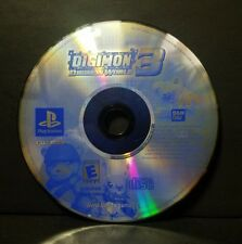 Digimon World 3 (Sony PlayStation 1, 2002) PS1 Disc Only