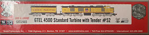 Scale Trains UNION PACIFIC GTEL 4500 Standard Turbine w/Tender #52 DCC Sound NIB