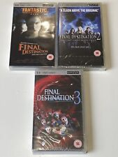 Final Destination Trilogy UMD Movies for PSP Will Ship Worldwide Region 2!