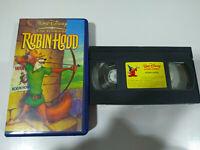 Robin Hood Los Clasicos de Walt disney - VHS Español