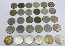 LOT 100 VINTAGE KEY TOKEN COIN CASINO CHIPS COLLECTIBLES CARD GAMING BEST PRICE