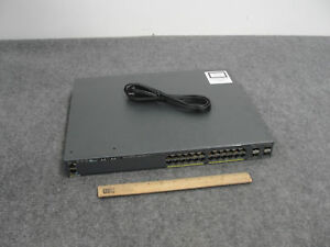 Cisco WS-C2960X-24PS-L -24-POE PORT Catalyst 24-Ports Switch