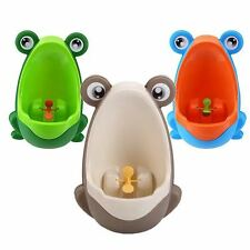 Kids Children Boys Potty Pee Training Urinal Unit Aiming Windmill Multi Designs