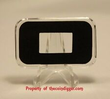1 AIR-TITE Direct Fit Capsule Holder for 10 GRAM Silver Bar Acrylic Case Airtite