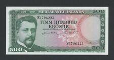 More details for iceland  500 kronur  1961  krause 45  uncirculated banknotes