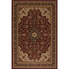 Area Rug Floor Carpet 5x8 ft. Home Persian Classics Medallion Kashan Red Classic