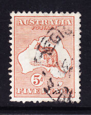 Australia 1913 SG8 5d Castaño Die II-wmk 2-Usado En Buen Estado. catálogo £ 45