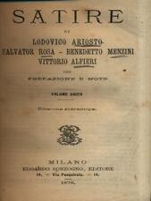 SATIRE  AA.VV. SONZOGNO 1879