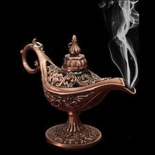 Seltene Aladdin Lampe Wunderlampe Magic Genie Messing Gefäß Bronze  Räuchergefäß