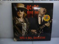 AC/DC-HIRED GUN. ROCK'N'ROLL...WERCHTER,BELGIUM 2016-YELLOW VINYL LP-NEW.SEALED.