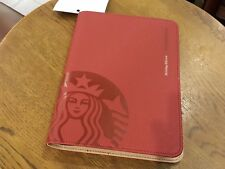 Starbucks Malaysia 2018 Planner Red HOLIDAY LIMITED EDITION