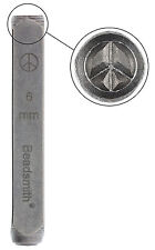 Design Stamp, Peace Sign (6mm)