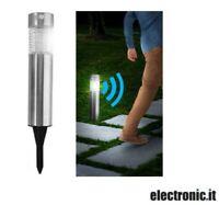 Lampada LED ad energia solare da giardino con sensore di movimento Outdoor Light