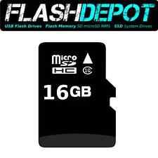 Phone Camera Memory 16GB MicroSD Card-Class10 TF Card SD Adapter SDHC microSDHC