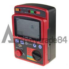 Ohm Insulation Resistance Tester Meter Megger GM3123 High Voltage 2.5KV 99.9G