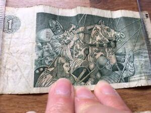 Old Scottish and English Pound Notes
