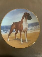 The Danbury Mint On The Beach Boxers Limited Edition Simon Mendez Plate