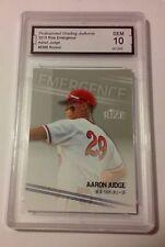 Aaron Judge RC 2013 Rize Emergence #EM-8 PGA Graded 10 Yankees Baseball Rookie