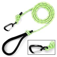 Mighty Paw Rope Dog Leash Premium Climbers Rope 6 Ft Long with Reflective Stitch
