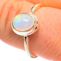 Ethiopian Opal 925 Sterling Silver Ring Size 9 Ana Co Jewelry R61311F