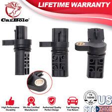 3Pcs Set Camshaft Crankshaft Position Sensor Kit Fit For Infiniti & Nissan PC460