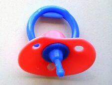 Heless Puppenschnuller Puppen Schnuller für Babypuppen mit Mundöffnung