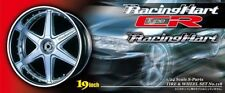 19 Zoll Racing Hart Type CR Felgen & Reifen 1:24 Model Kit Wheel Aoshima 005569