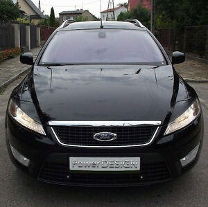 Eyebrows for FORD MONDEO MK4 2007-2010  headlight eyelids lids ABS Plastic