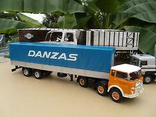 Camion Semi Remorque FIAT 690 T 1 Transport DANZAS  1961-1969   1/43 neuf boite