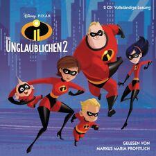 DIE UNGLAUBLICHEN - HÖRBUCH ZUM FILM(2)  2 CD NEU