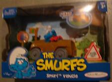 Smurfs smurf vehicle with figure red gloves variant movie new