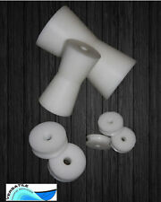 Replacement sheaves pulleys bow rollers & rollers made
